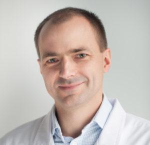 Dr n. med. Tomasz Grochowski, laryngolog dziecięcy