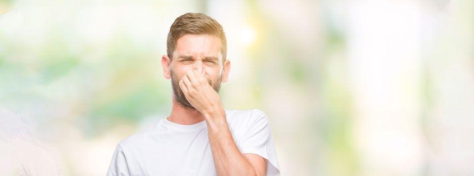Upośledzenie drożności nosa