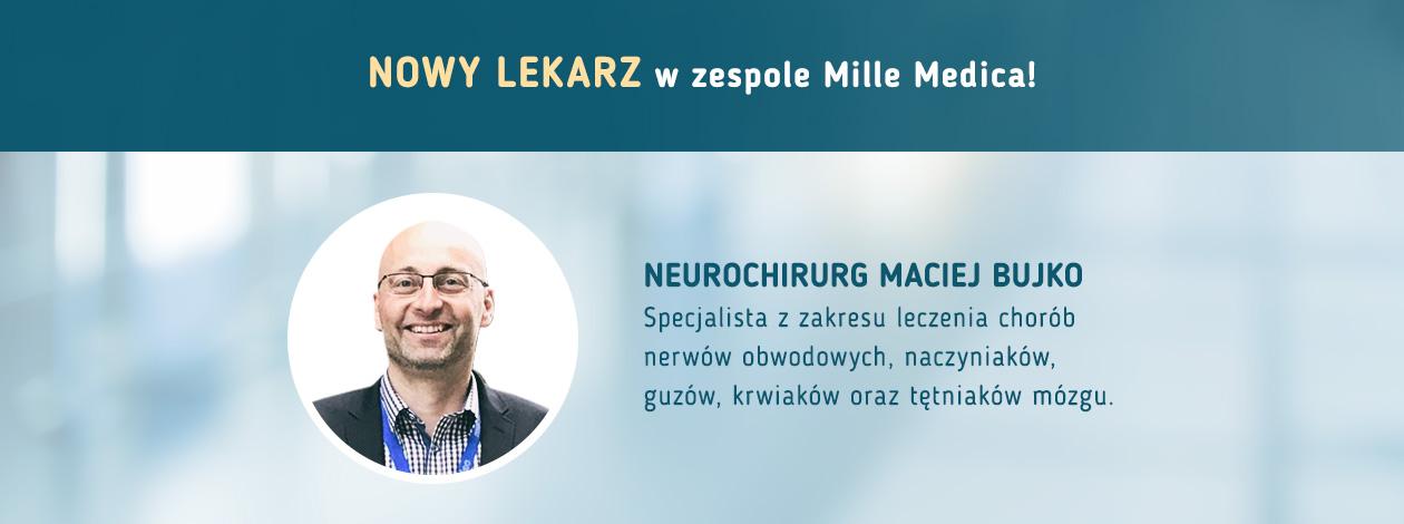 Nowy lekarz w klinice Mille Medica