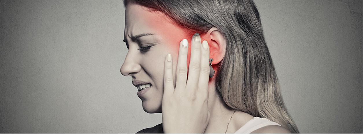 ból ucha wewnętrznego