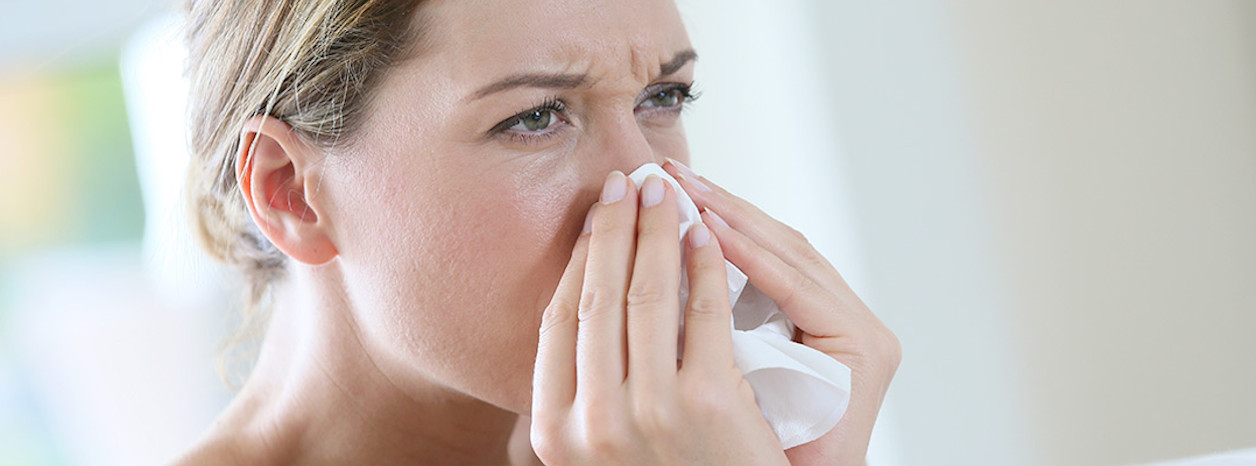 katar niealergiczny nieżyt nosa