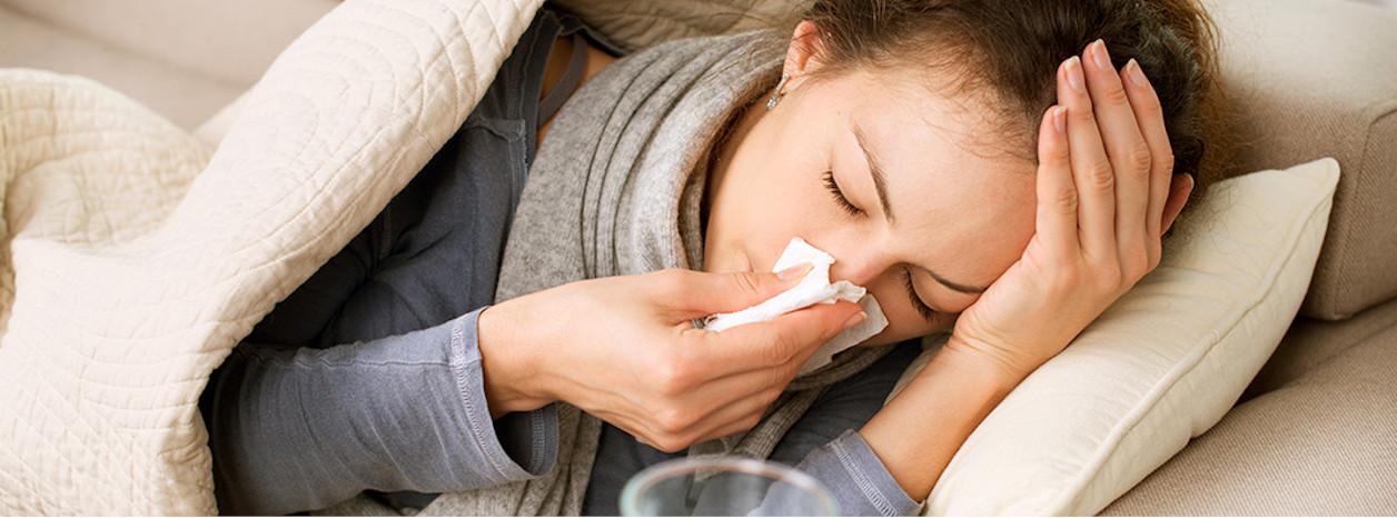 ból głowy przeziębienie