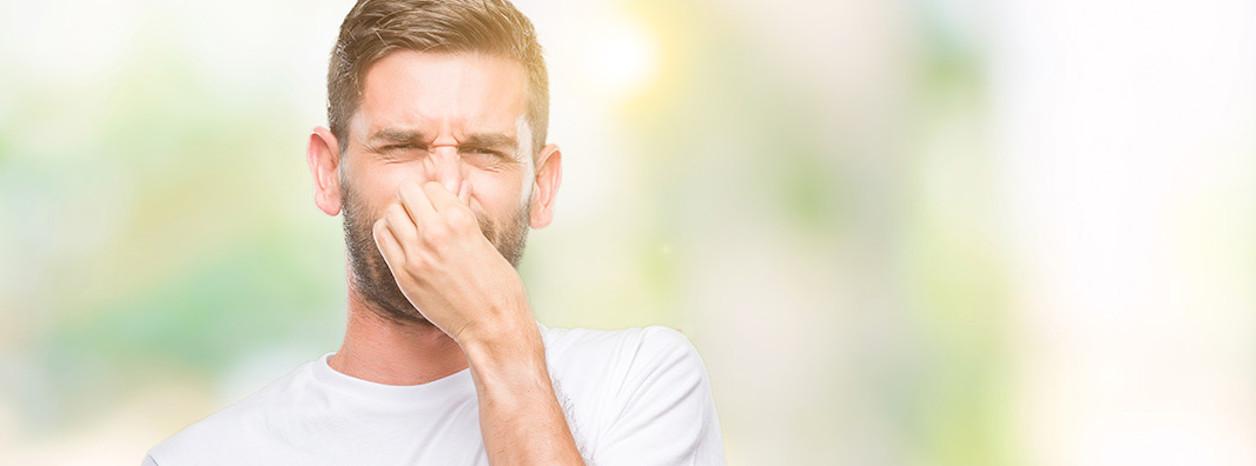 wyciek ropny z nosa