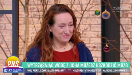 Dr Eliza Brożek-Mądry w programie Pytanie Na Śniadanie