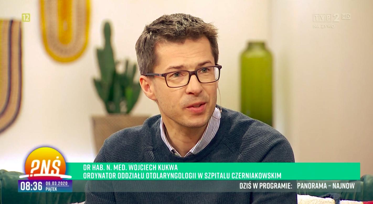 Tomasz Kukwa w programie Pytanie na Śniadanie - TVP 2