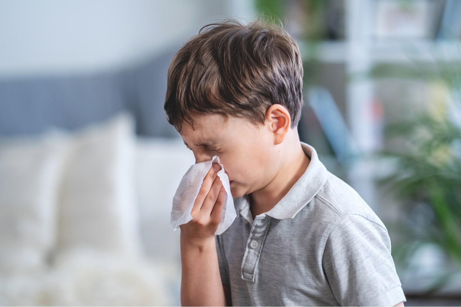 upośledzenie udrożnienia nosa